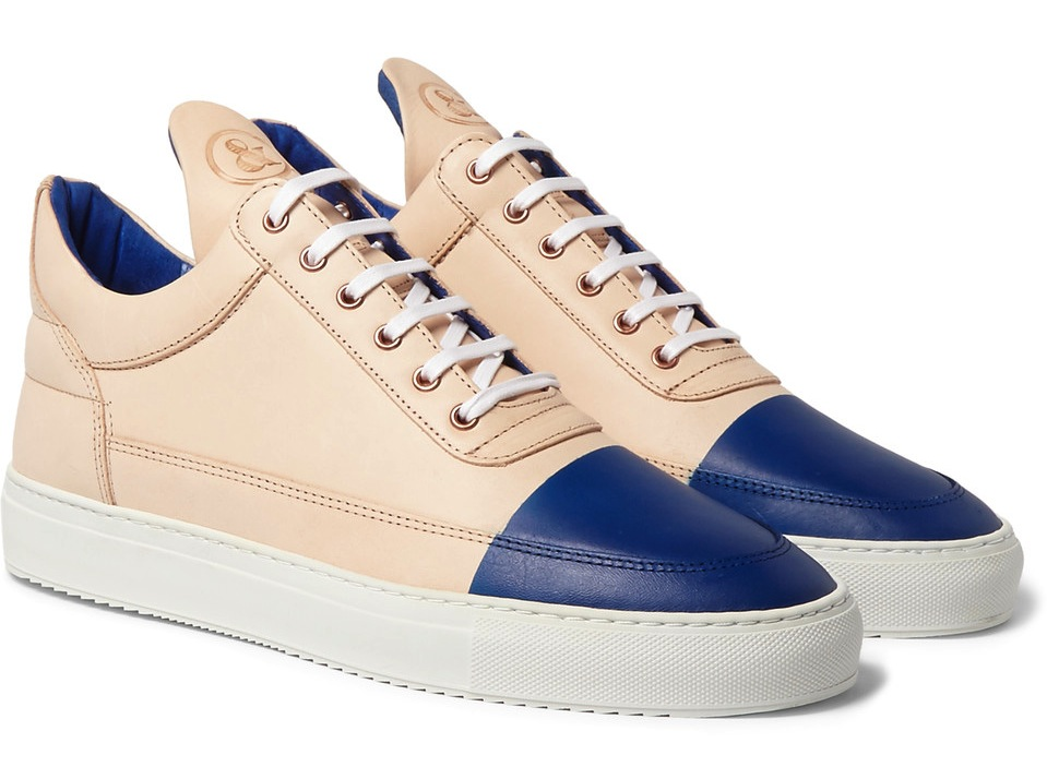 Filling Pieces United Arrows Leather Sneakers