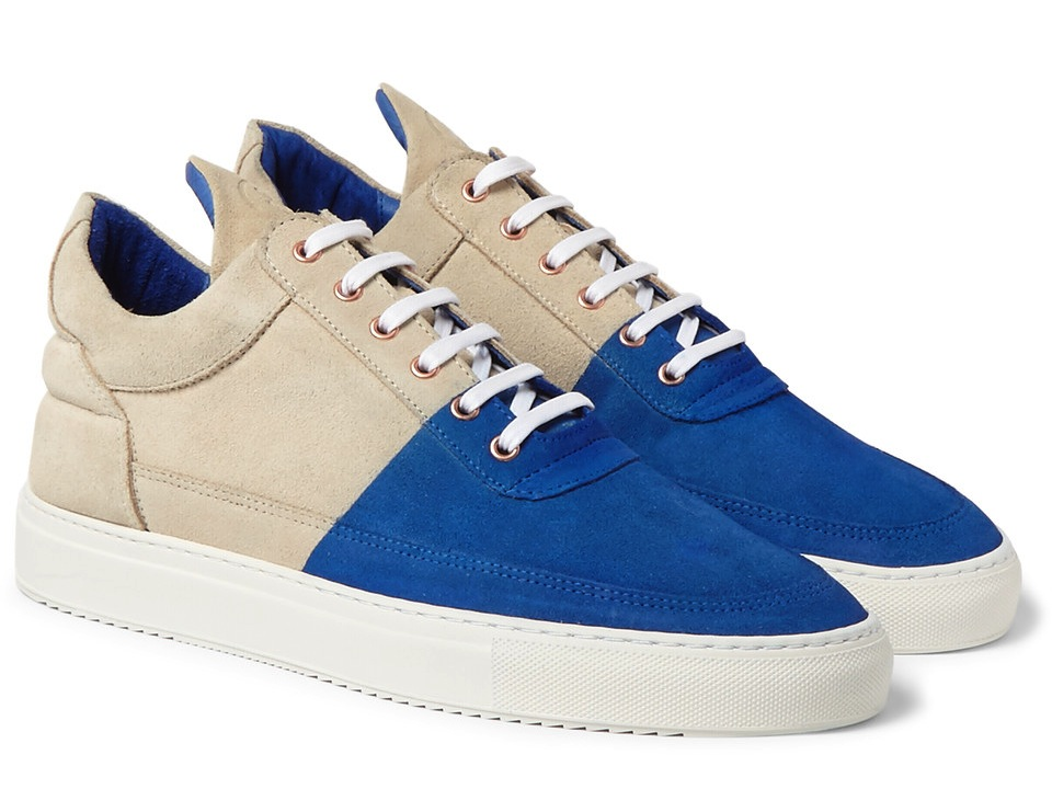 Filling Pieces United Arrows Suede Sneakers