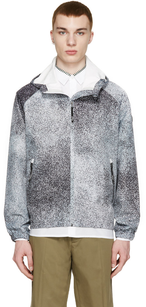 kenzo_grey_speckled_shell_jacket
