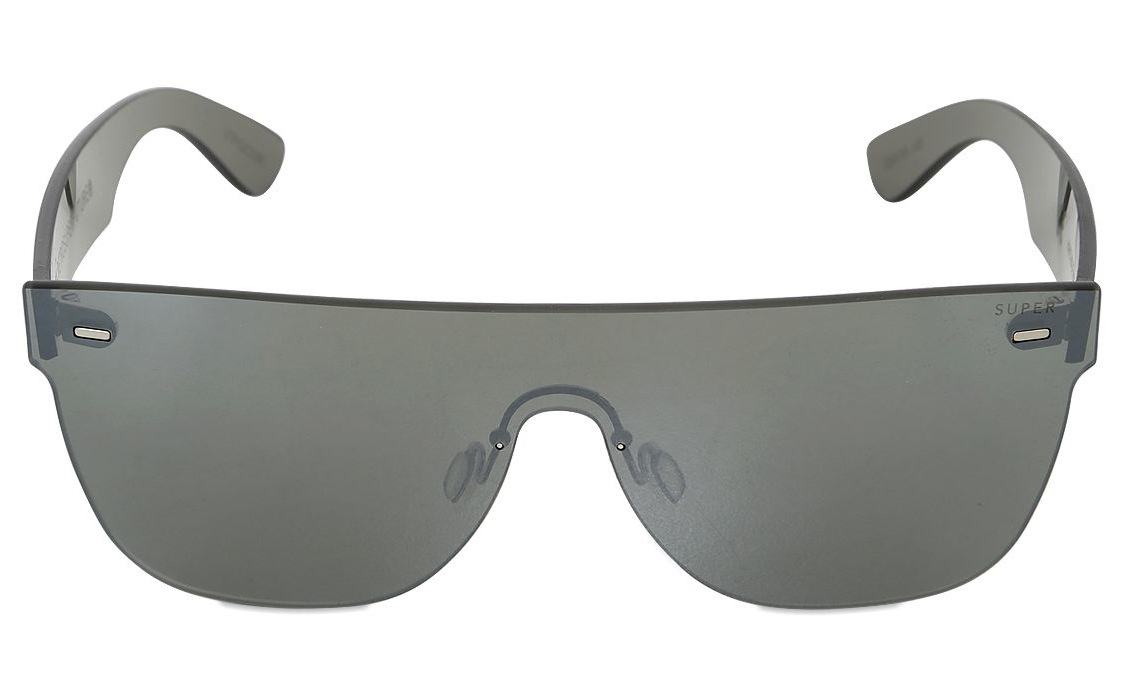 Super Mirrored Acetate Sunglasses