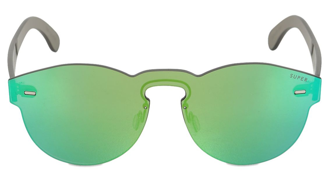 Super Paloma Holographic Green Sunglasses