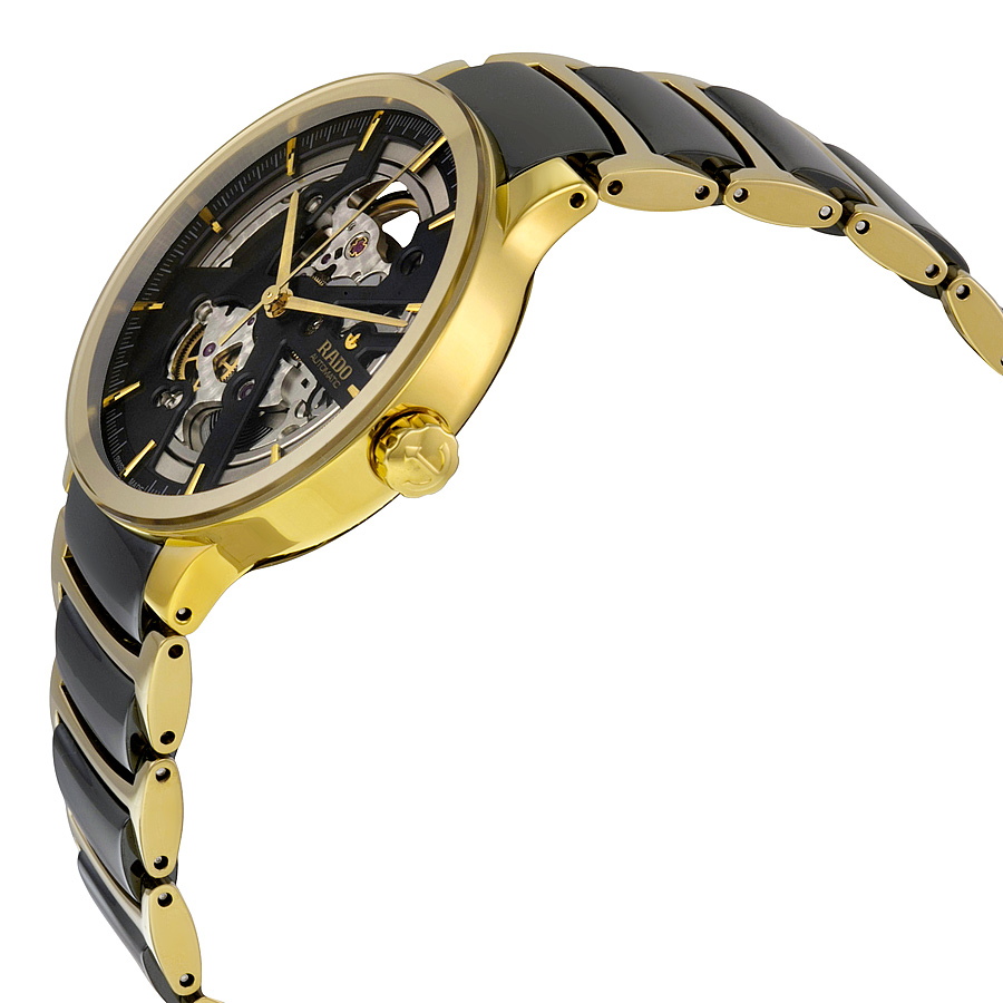 Rado Centrix Open Heart Skeleton Gold