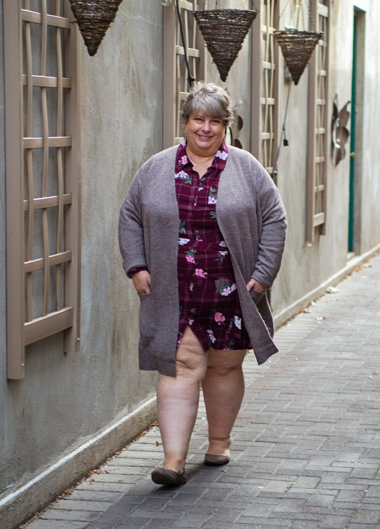 How to Wear a Shirt Dress Two Ways: Simply Be Plus Size ...
