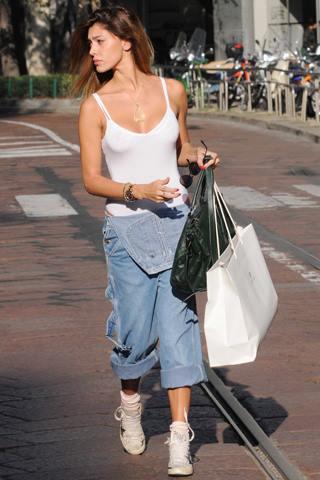 salopette di jeans donna