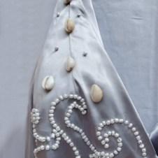 Close-up of bodice