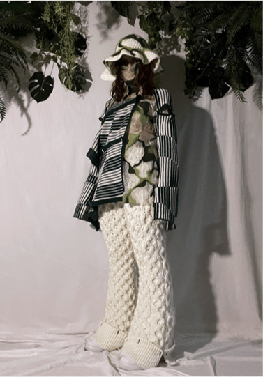 Gabriela Villatoro Collection Photo 1 - Knitted lock full