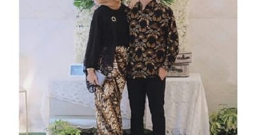 Baju Kebaya Couple Terbaru Model Dress Soft Cream