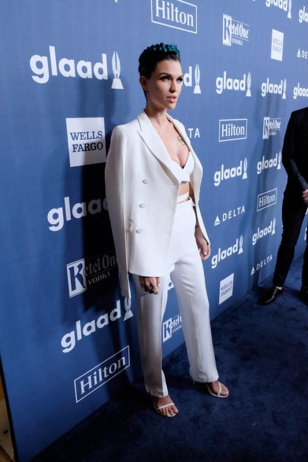 Ruby Rose In Aquilano Rimondi – 2016 GLAAD Media Awards ...
