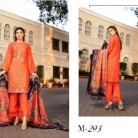Shaista Semi Peach Embroidered Muntaha Winter Collection Wool Shawl 2020 With Price Buy Online