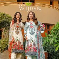 Buy Online Amara Viscose Embroidered Chiffon Collection 2021 of Wijdan by Salam Textile