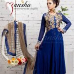 Mansha Latest Spring summer party wear dress collection (6)