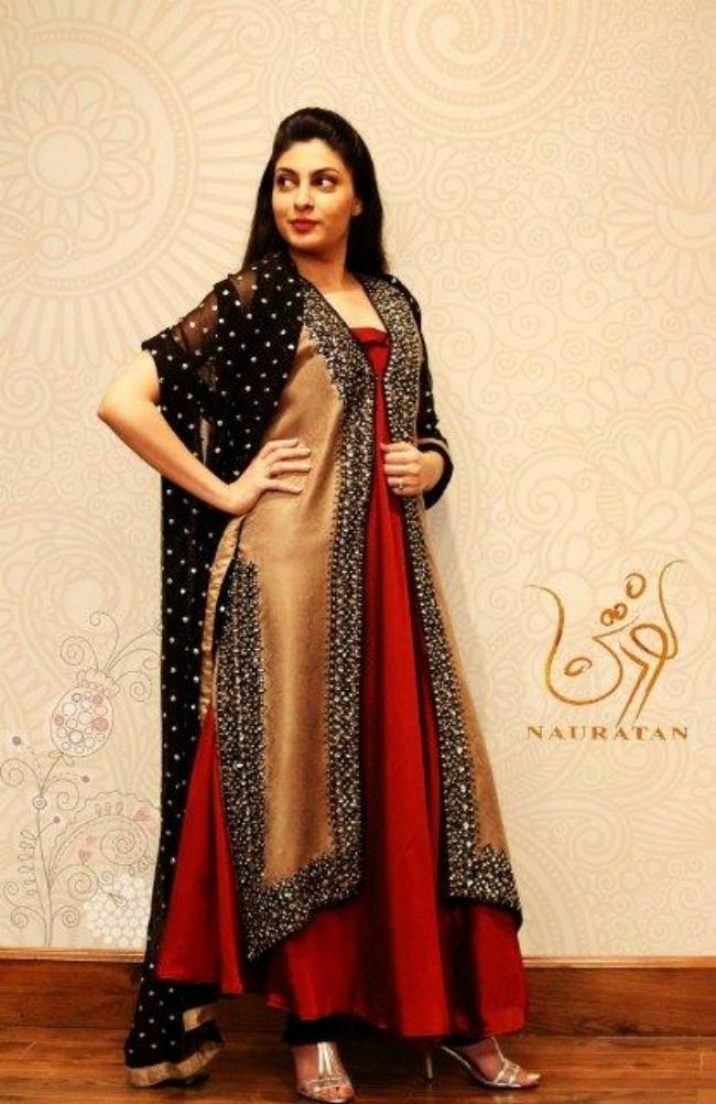 Semi Formal Dress Collection 2013 By Nauratan (6)