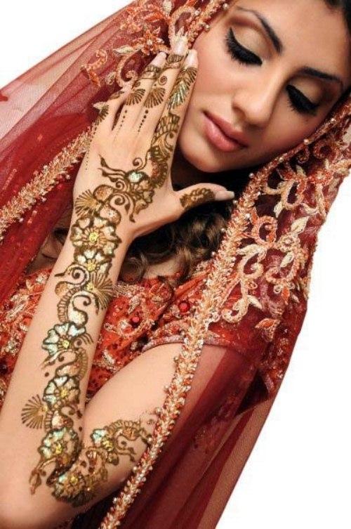 Arabic Mehndi Designs for girls 2013-2014 (4)