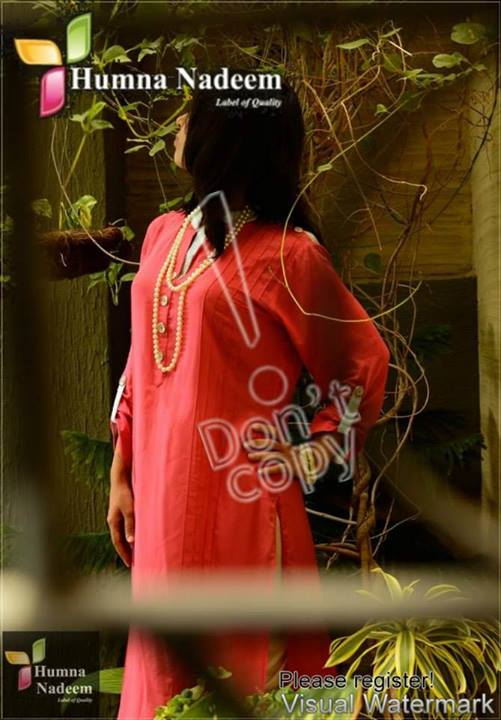 Humna Nadeem Latest Summer Casual Wear Collection 2013 (5)