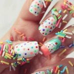 Party nails designs for girls 2013 -2014
