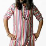 Satrangi by Saqib Amazing Kurtas Eid Collection 2013 For Men _ 0009