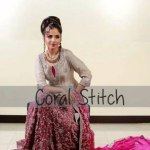 Coral stitch casual dress collection for young girls (8)
