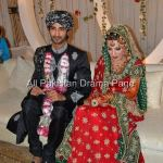 Famous Fashion Model ZAHID TAIMOOR wedding waleema pictures (8)