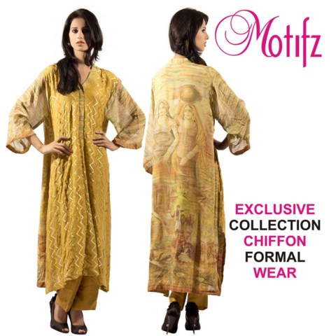 Women Exclusive Dress Collection 2013 by Motifz (5)