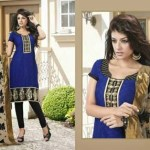Bismi Boutique New Collecton Printed Dresses Collection 2013-14 (1)