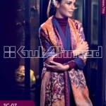 Gul Ahmed Pashmina Scarves Dresses 2013-2014 for Ladies (5)