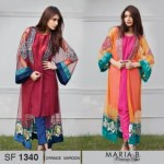 Maria B Pashmina Indian Dresses 2013-14