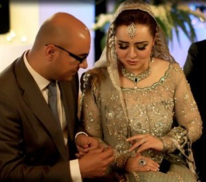 Maria B Pakistani Fashion Designer 2nd Wedding Pictures