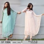 Maria B Pashmina Indian Dresses Women Collection Fashion 2013-14