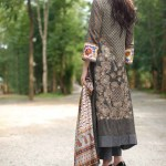 Rabea Linen Women Khaddar Collection 2014 by Shariq Textiles