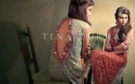 Tena Durrani Camellia Winter Dresses 2013 for Women and Girls (1)