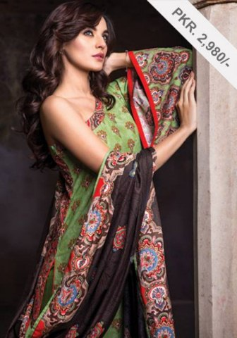 Alkaram studio Resham Twill Linen Embroidery Winter Hues Vol-02 (3)