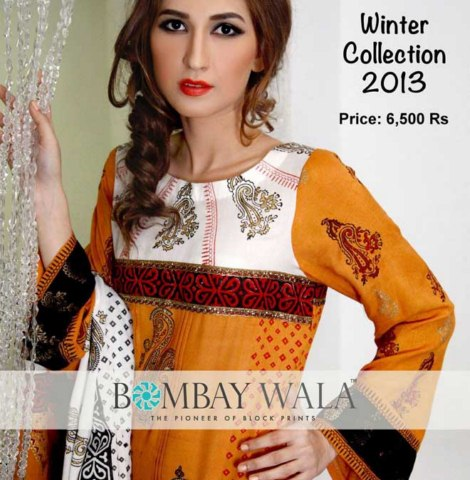 Bombaywala pakistani dress collection women wear for winter