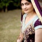 Bridal Mehndi Wedding Waleema Multi Colored Dresses 2014 (5)
