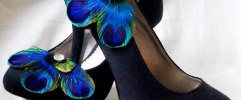 Lovely Elegance Peacock Designs Ladies Shoes Collection 2014 (6)