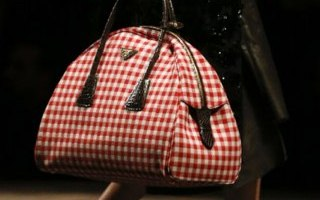 Prada stylish Autumn Winter Handbags Milan Fashion Week