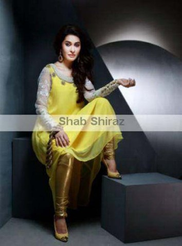 Formal Wear Suits 2014 For Women By Shab Shiraz Clothing (12)