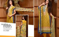 Al Hamra motifs spring summer party wear collection 2014