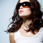sunglasses collection black and brown mirror