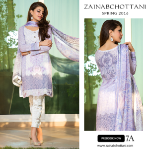 Zainab Chottani price lawn collection 2016