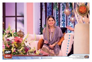 Sanam Baloch with her Sister Sabreen in Shaan-e-Ramza (2)