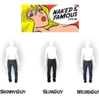 Naked and Famous Fit Guide