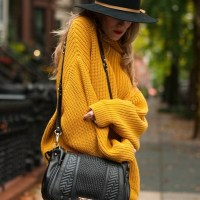 How to Wear Over-sized Sweaters