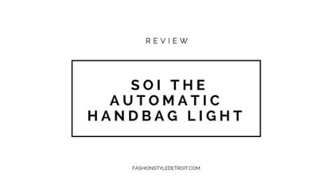 SOI The Automatic Handbag Light