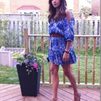 Outfit: Eight Sixty Dress