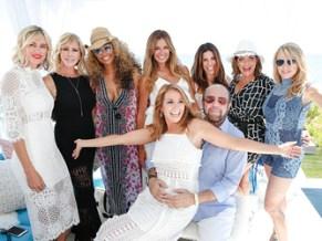 Kristen Taekman, Vicki Gunvalson, Cynthia Bailey, Kelly Bensimon, Jill & Bobby Zarin, Cindy Barshop, Kathy Wakile and Ramona Singer