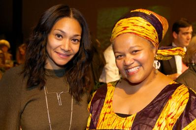 Monique Pean & Amikaeyla Gaston Photo by:Patrice Casanova