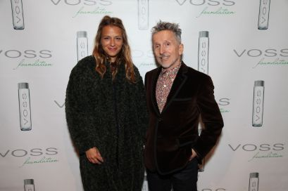 Charlotte Ronson & Simon Doonan Photo by Amber de Vos