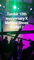 Tumblr 10th anniversary X Melissa Shoes Fashion Week Party