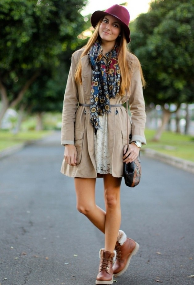 15 Street Style Outfit Ideas For Flat Boots