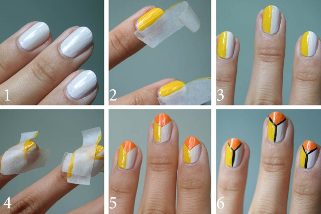 20 Interesting Step By Step Nail Designs